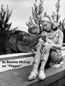 Cheryl Miller as Bonnie McCoy in Flipper and the Elephant