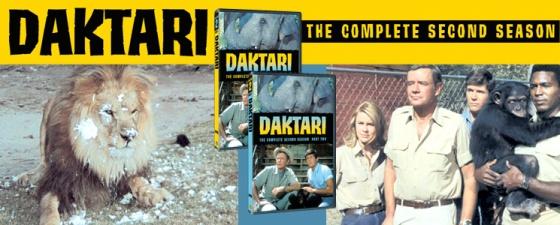 warner archives daktari season 2 DVDs