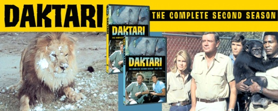 warner archives daktari season 2 DVDs