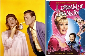 bewitched elizabeth montgomery dick york i dream of jeannie barbara eden larry hagman