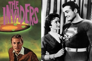 the invaders starring Roy Thinnes the adventures of superman george reeves