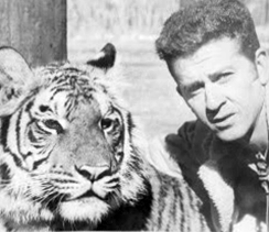 Animal affection trainer Ralph Helfer in the 1960s