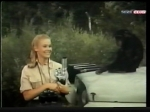 cheryl miller and judy the chimp with microscope on daktari season three