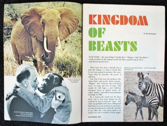 640 Ebay magazine 1969_1 Ivan Tors Daktari