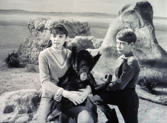 Judy as Debbie on Lost in Space