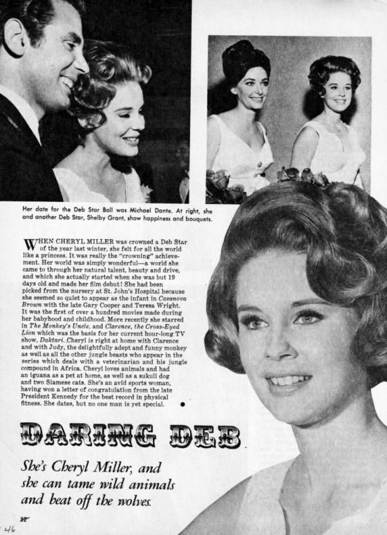 Cheryl Miller Hollywood Deb Star Ball (1966)